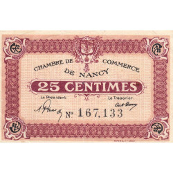 Nancy - Pirot 87-56 - 25 centimes - Etat : TTB