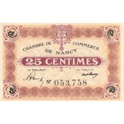 Nancy - Pirot 87-58 - 25 centimes - Etat : SUP