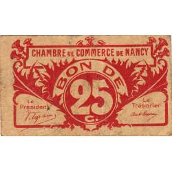 Nancy - Pirot 87-64 - 25 centimes - Etat : TB+