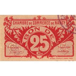 Nancy - Pirot 87-67 - 25 centimes - Etat : NEUF
