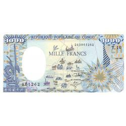 Congo (Brazzaville) - Pick 10c - 1'000 francs - 01/01/1991 - Etat : NEUF