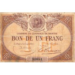 Nantes - Pirot 88-1 - 1 franc - Etat : TB-