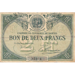 Nantes - Pirot 88-2 - 2 francs - Etat : TB-