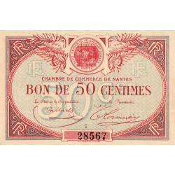 Nantes - Pirot 88-3 - 50 centimes - Etat : SPL