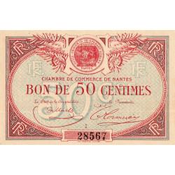 Nantes - Pirot 88-3 - 50 centimes - Série I - Sans date - Etat : SPL