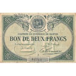 Nantes - Pirot 88-10a - 2 francs - Série A - Sans date - Etat : TB