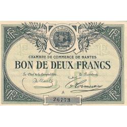 Nantes - Pirot 88-10a - 2 francs - Etat : SUP