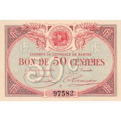 Nantes - Pirot 88-13 - 50 centimes - Série P - Sans date - Etat : SPL