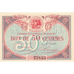 Nantes - Pirot 88-16 - 50 centimes - Etat : SPL à NEUF