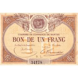Nantes - Pirot 88-20 - 1 franc - Etat : TTB+ à SUP