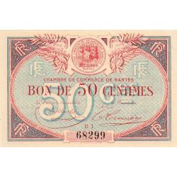 Nantes - Pirot 88-21 - 50 centimes - Etat : SUP+ à SPL