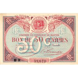 Nantes - Pirot 88-24 - 50 centimes - Etat : SUP