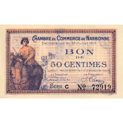 Narbonne - Pirot 89-1 - 50 centimes - Etat : SPL à NEUF