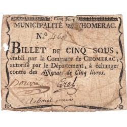 Ardèche - Chomerac - Kolsky 7-54 - 5 sous - Etat : B+