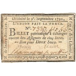 Ardèche - Saint-Remeze - Kolsky 7-146 - 2 sous - Etat : SUP