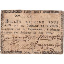 Ardèche - Viviers - Kolsky 7-199 - 5 sous - Etat : TTB-