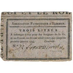 Seine Maritime - Elboeuf - Kolsky 76-090 - 3 livres - Etat : TTB+