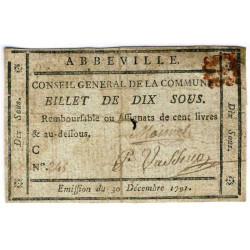 Somme - Abbeville - Kolsky 80-004 - 10 sous - Etat : TTB-