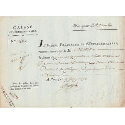 Aisne - Chauny - Révolution - 1791 - Biens nationaux - 44000 livres - Etat : SUP