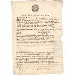 Haute-Garonne - Toulouse - Louis XIV - 1712 - Deniers dus au Roi - 23 livres - Etat : TTB+