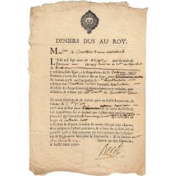 Haute-Garonne - Toulouse - Louis XIV - 1714 - Deniers dus au Roi - 31 livres - Etat : TTB