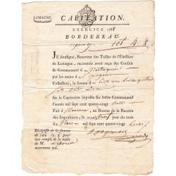 Lot-et-Garonne - Montesquieu - Louis XVI - 1790 - Tailles : capitation - 101 livres 4 sols 8 deniers - Etat : SUP