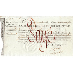 Belgique - Bruxelles - 1er Empire - 1810 - Rescription de 20000 francs - Etat : SUP+