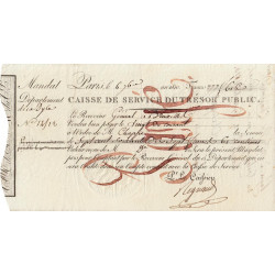 Belgique - Bruxelles - 1er Empire - 1810 - Mandat de 777 francs - Etat : SUP