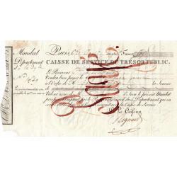 Belgique - Bruxelles - 1er Empire - 1810 - Mandat de 250 francs - Etat : TTB
