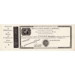 Rouen - Caisse d'échange - Pick S 245b - 20 francs - 1803 - Etat : NEUF