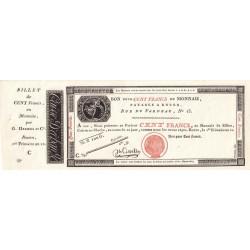 Rouen - Caisse d'échange - Pick S 246p - 100 francs - 1803 - Etat : NEUF