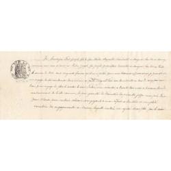 74 - Marignier - Droit prop. - 1882 - 20 centimes - Etat : SUP