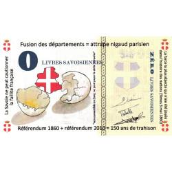 Billet savoisien - 0 / 201? Livres savoisiennes - 2010 - Etat : NEUF