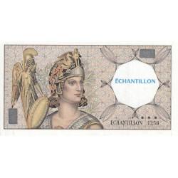 Athena à gauche - Format 50 francs QUENTIN DE LA TOUR - DIS-03-F-01 - Etat : SUP