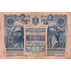 Autriche - Pick 6 - 50 kronen - 1904 - Etat : TB