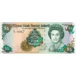Caimans (îles) - Pick 34b - 5 dollars - 2005 - Etat : NEUF