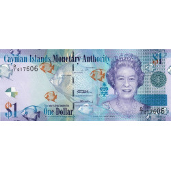 Caimans (îles) - Pick 38a - 1 dollar - 2010 - Etat : NEUF