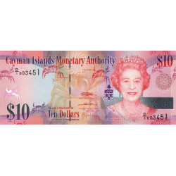 Caimans (îles) - Pick 40 - 10 dollars - 2010 - Etat : NEUF