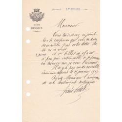 Evreux - Pirot 57 - Document de 1919