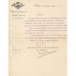 Montluçon-Gannat - Pirot 84 - Document de 1918