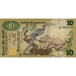 Sri-Lanka - Pick 85 - 10 rupees - 26/03/1979 - Etat : TB