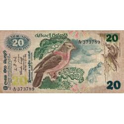 Sri-Lanka - Pick 86 - 20 rupees - 26/03/1979 - Etat : TB