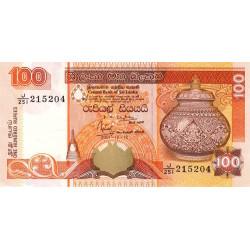Sri-Lanka - Pick 111b - 100 rupees - 12/12/2001 - Etat : NEUF