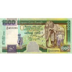Sri-Lanka - Pick 113 - 1'000 rupees - 1995 - Etat : TTB