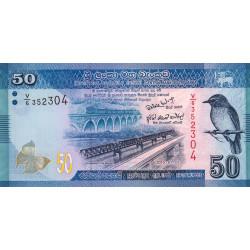 Sri-Lanka - Pick 124a - 50 rupees - 01/01/2010 - Etat : NEUF
