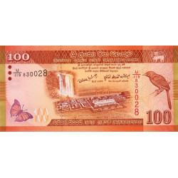 Sri-Lanka - Pick 125a - 100 rupees - 01/01/2010 - Etat : NEUF