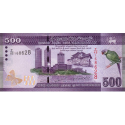 Sri-Lanka - Pick 126a - 500 rupees - 2010 - Etat : NEUF