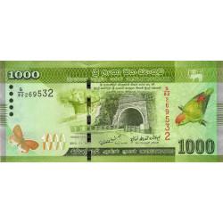 Sri-Lanka - Pick 127a - 1'000 rupees - 2010 - Etat : NEUF