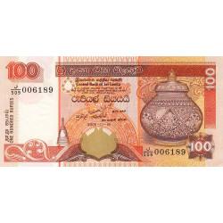 Sri-Lanka - Pick 111d - 100 rupees - 19/11/2005 - Etat : NEUF