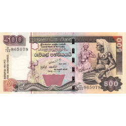 Sri-Lanka - Pick 119d - 500 rupees - 19/11/2005 - Etat : NEUF